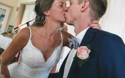 Frihet, äktenskap & raw bröllopstårta!