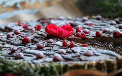 Raw chokladtryffeltårta