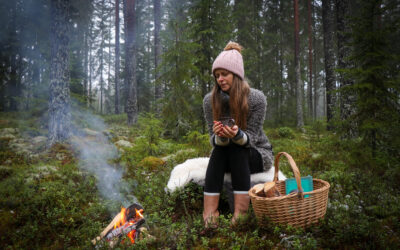 Nymåneritual i skogen